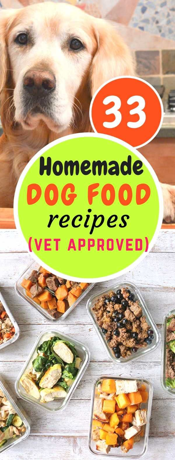 33 Best Homemade Dog Food Recipes That Are Vet Approved Raw Dog Food Recipes Dog Food Recipes Healthy Dog Food Recipes