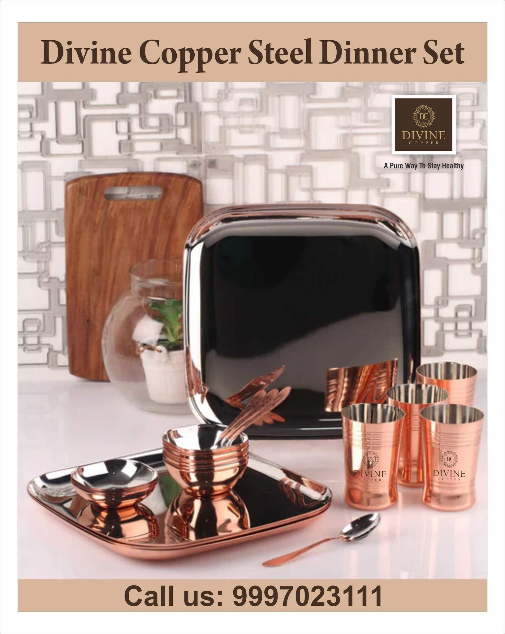 Shop For Our Amazing Range Of Copper Dining Accessories