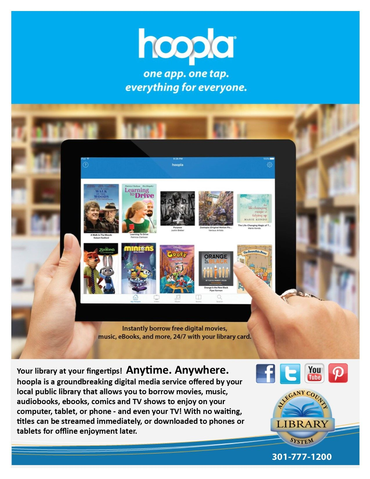The Allegany County Library System is excited to introduce