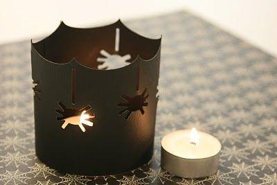 Portavelas decoración halloween