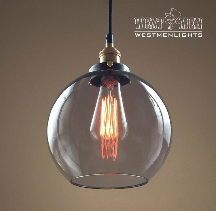 Globe 1 Light Smoke Gl Pendant In 2019