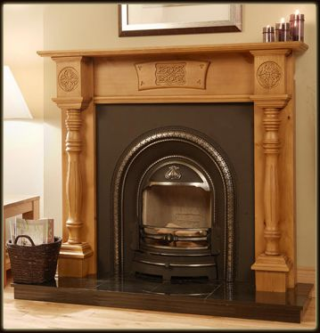 Balrath Designs Timber Fireplaces Celtic Pillar Fireplace Diy Fireplace Fireplace Mantels