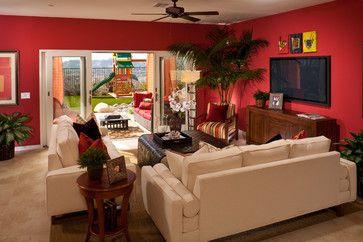 CrestView   Contemporary   Living Room   Los Angeles   Studio V Interior  Design