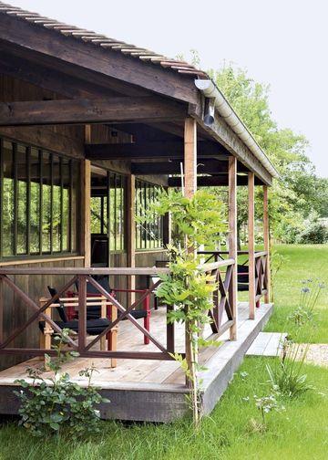 Sarah Lavoine  sa maison de campagne en photos Le cap ferret, Cap