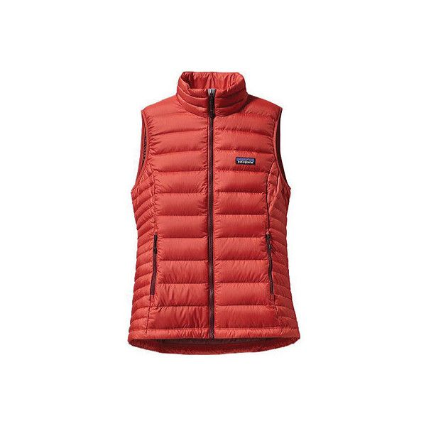 Women's Patagonia Down Sweater Vest - Sumac Red Jackets ($179 ...