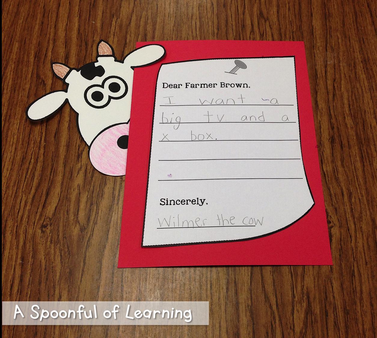 Fun on the Farm! Click Clack Moo! Cows That Type | Teaching ...