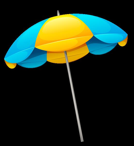 Yellow Blue Beach Umbrella Png Clipart Blue Beach Umbrella Clip Art Beach Clipart