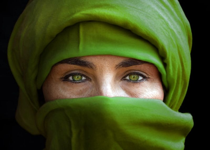 Green eyes by Miquel Planells Saurina