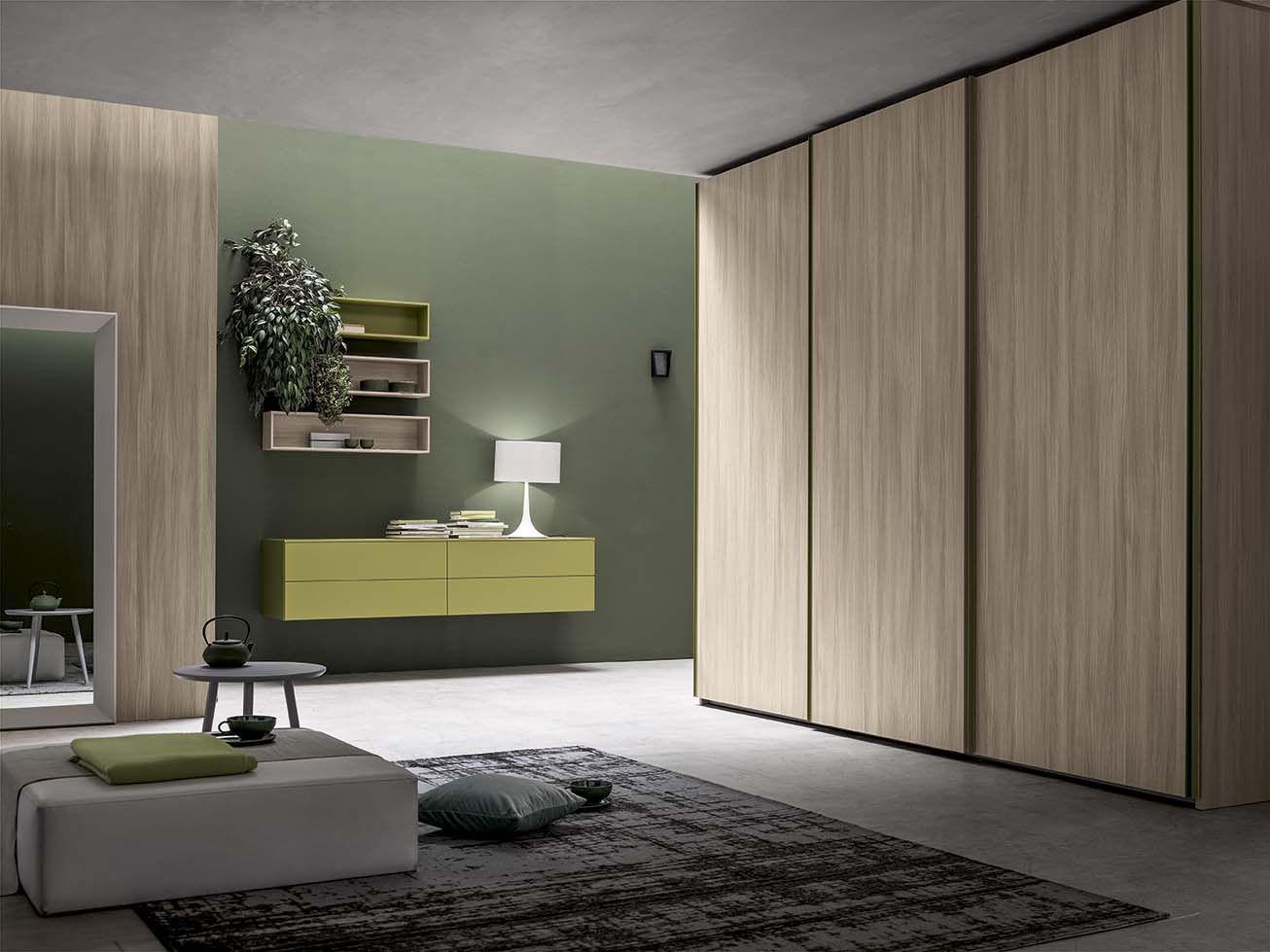 Lasciati ispirare: un armadio interpreta il moderno per la zona ...