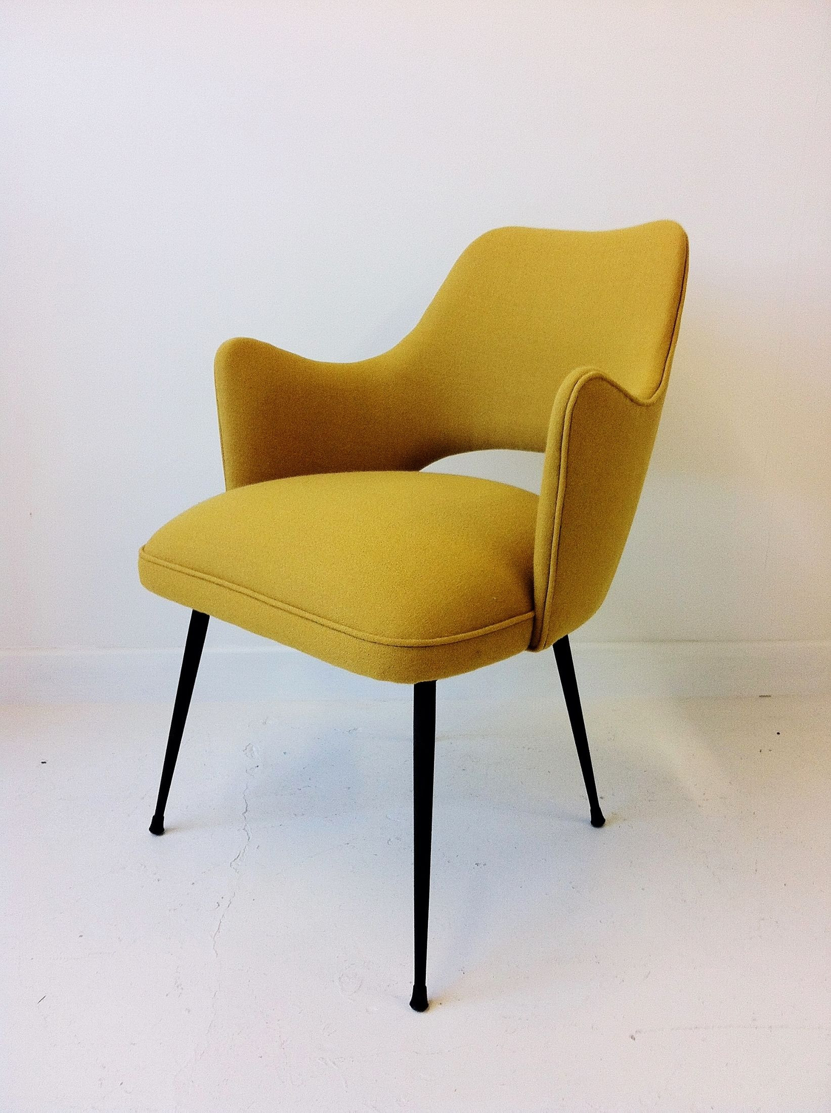 pair of 1950s italian easy chairs modern chairsmidcentury - Mid Century Modern Furniture Of The 1950s