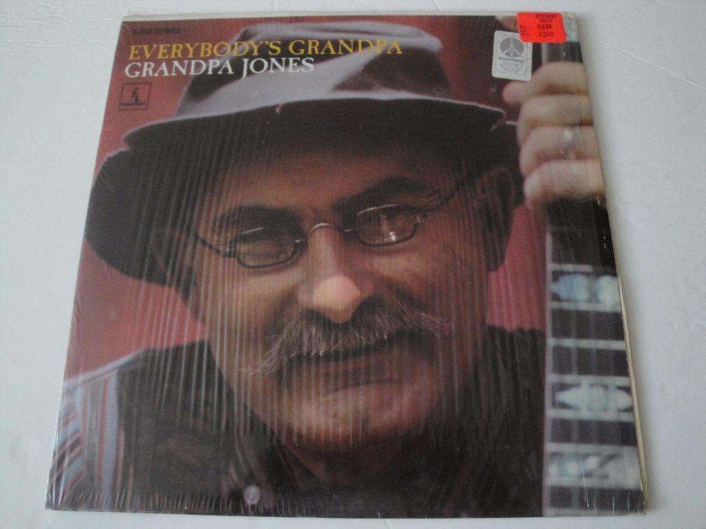 GRANDPA JONES EVERYBODY'S GRANDPA JONES VINYL LP 1967 MONUMENT RECORDS STEREO EX #CountryPopCountryRockEarlyCountryNashvilleSoundTraditionalCountry