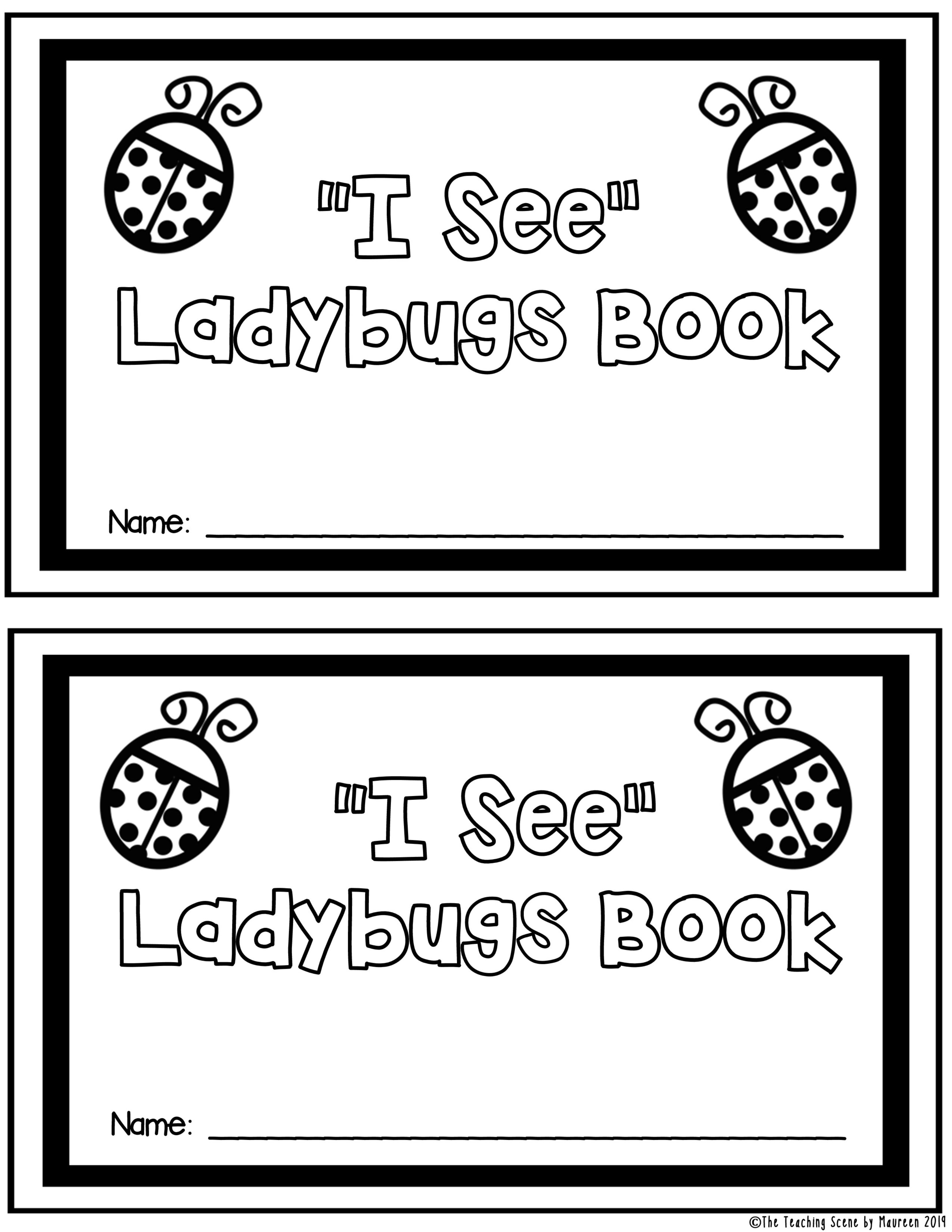 Ladybugs Unit Literacy And Math Activities Amp Centers