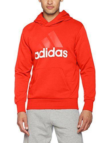 adidas Herren Essentials Linear Pullover Hood French Terry