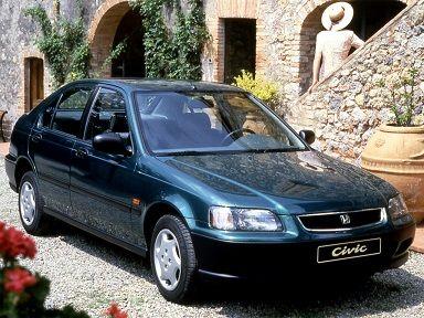 Honda Civic Fastback 1994 1997 Honda Civic Car Honda