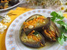 Рецепт маринованных баклажанов с морковью