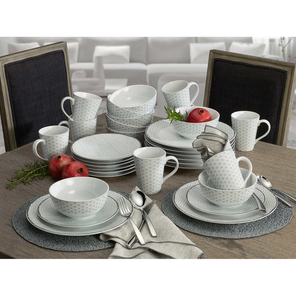 Mikasa Avery Medley 32-piece Dinnerware Set  sc 1 st  Pinterest & Mikasa Avery Medley 32-piece Dinnerware Set | house planning ...
