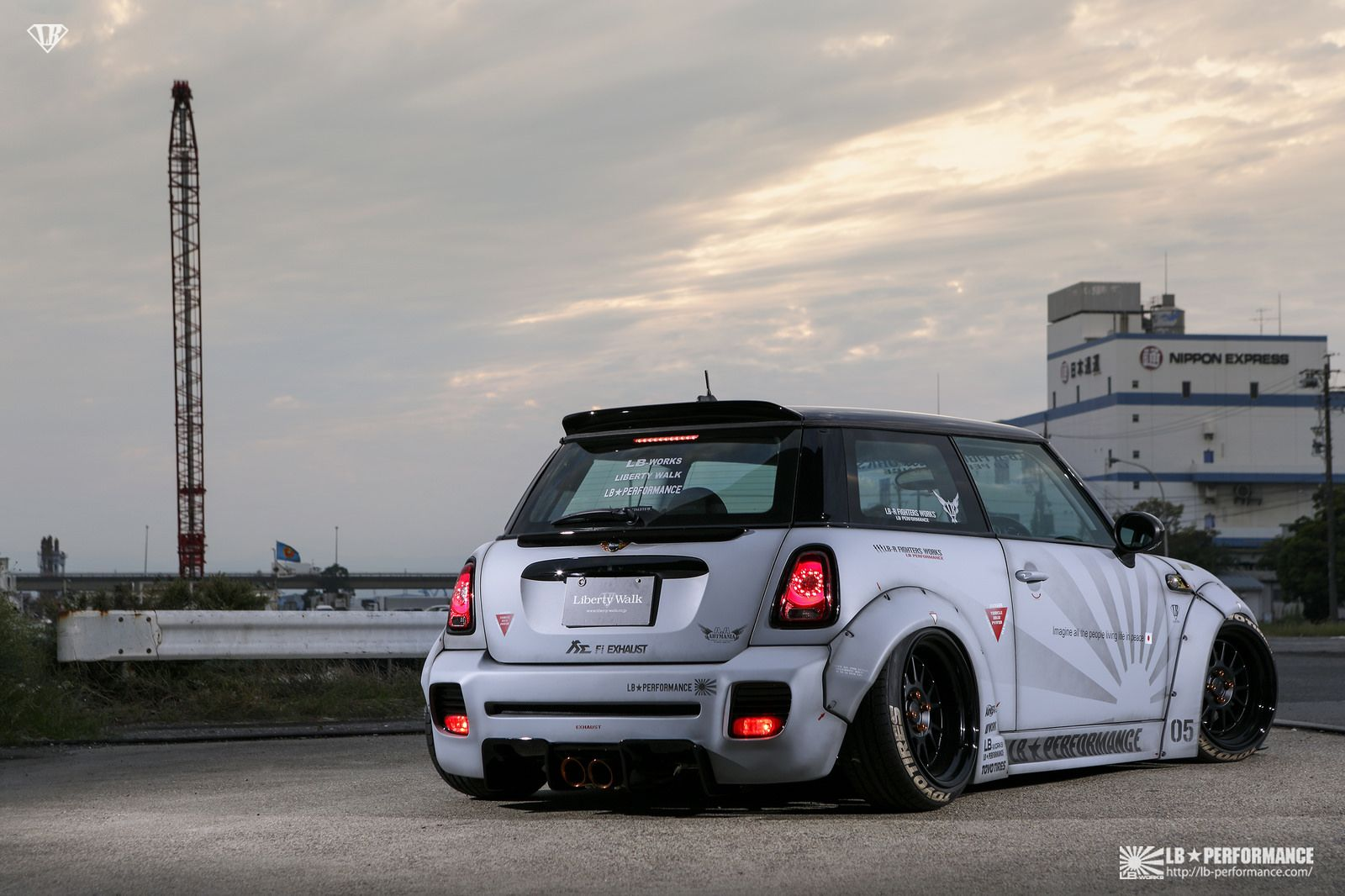 Liberty Walk Mini Cooper S R56 With Fi Exhaust Mini Cooper Mini