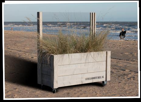 Plexiglas Windscherm Tuin : Steigerhouten windscherm met glas en plantenbak op wielen