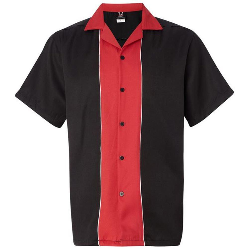 Swing Master 20 Bowling Shirt Black Red I Might Buy This