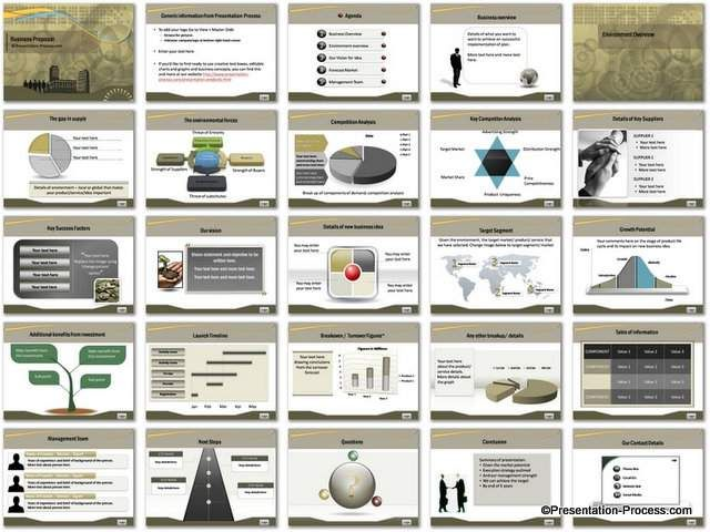 sample business proposal template powerpoint business proposal - best proposal templates