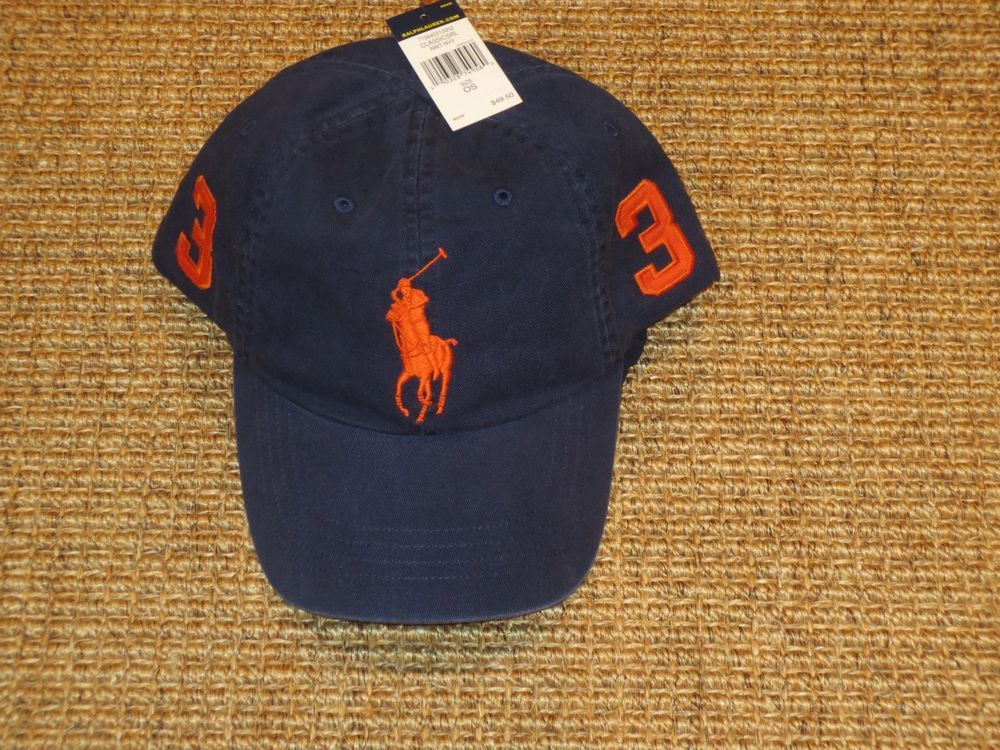 4c1264079 POLO RALPH LAUREN BASEBALL CAP MENS BIG PONY CHINO HAT PONY LOGO NEW   PoloRalphLauren  BaseballCap