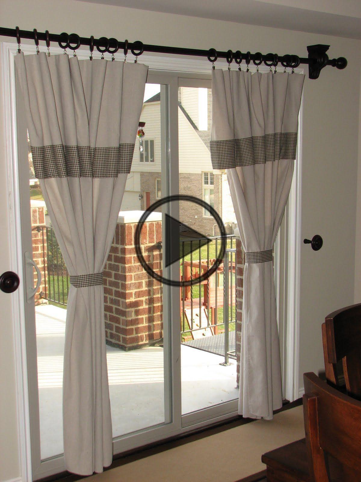 Life on Nickelby DIY kitchen curtains en 2020 Madera