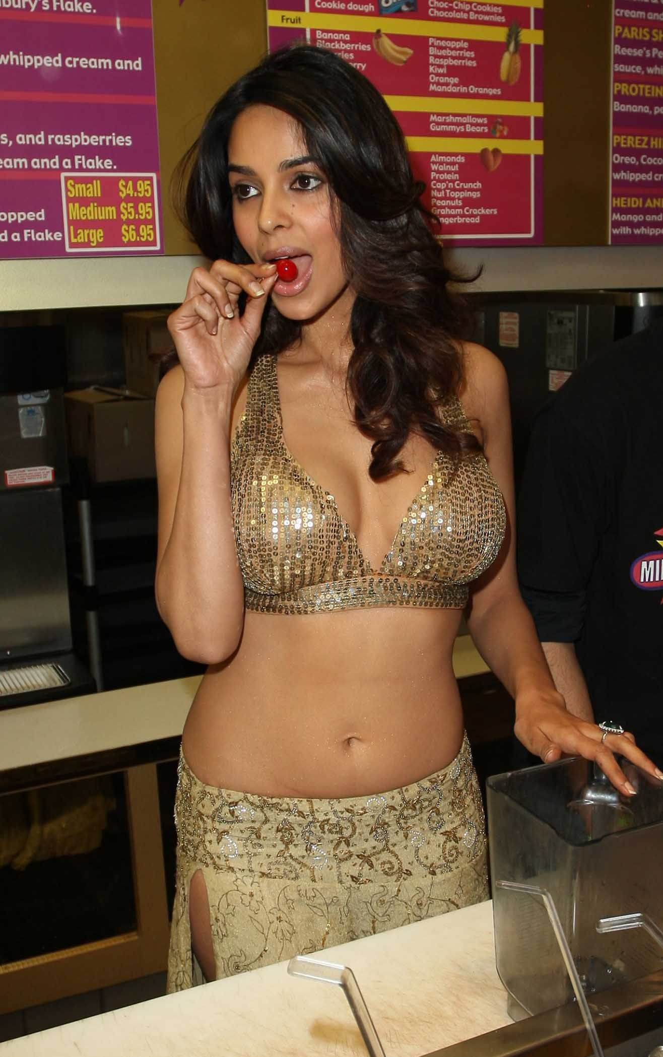 Mallika Sherawat milkshake | Indian actresses, Women, Two piece ...