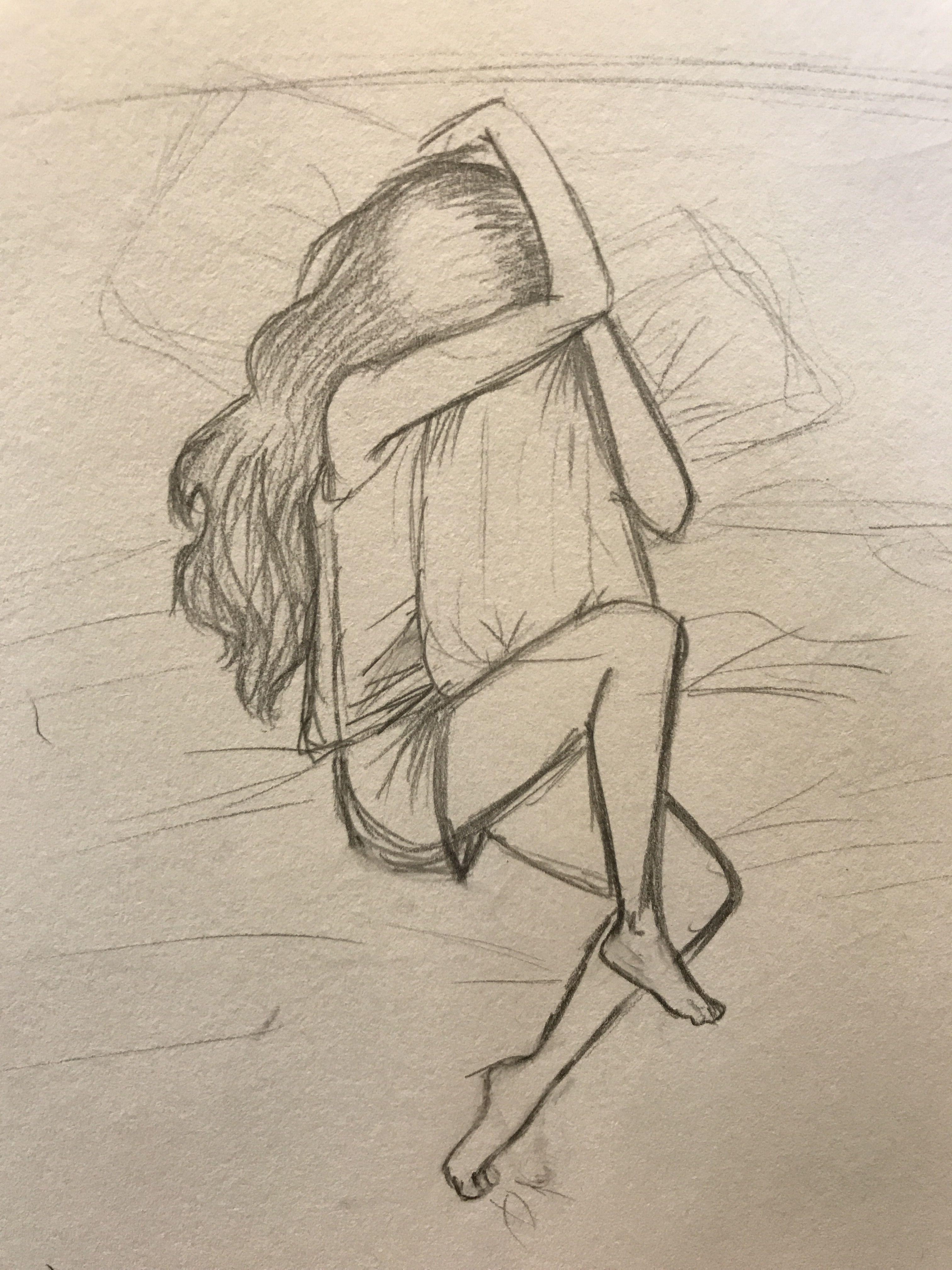 вот картинки простым карандашом простые грустные вашему вниманию
