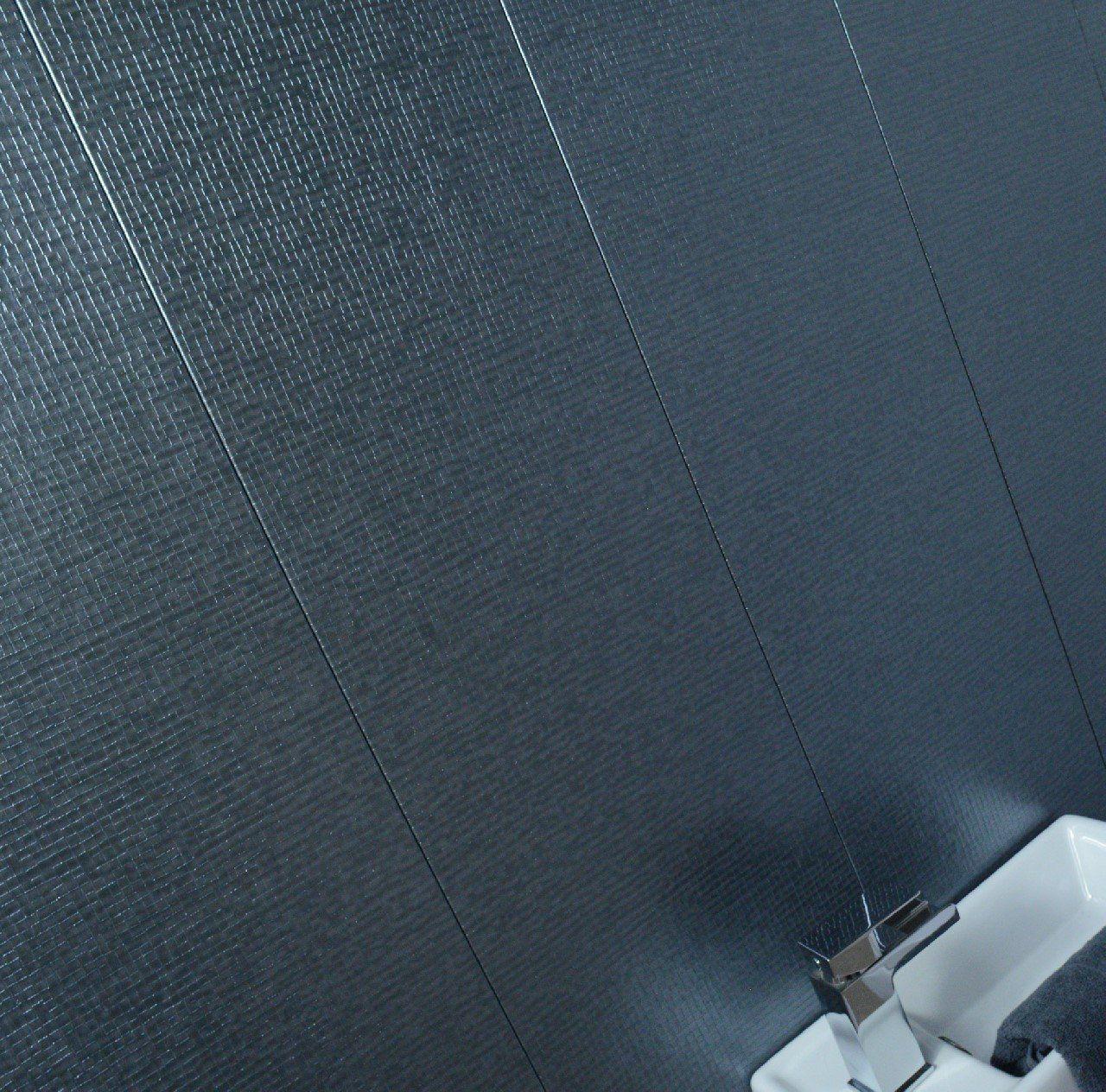 Claddtech Bathroom wall panels splashbacks Light grey ...