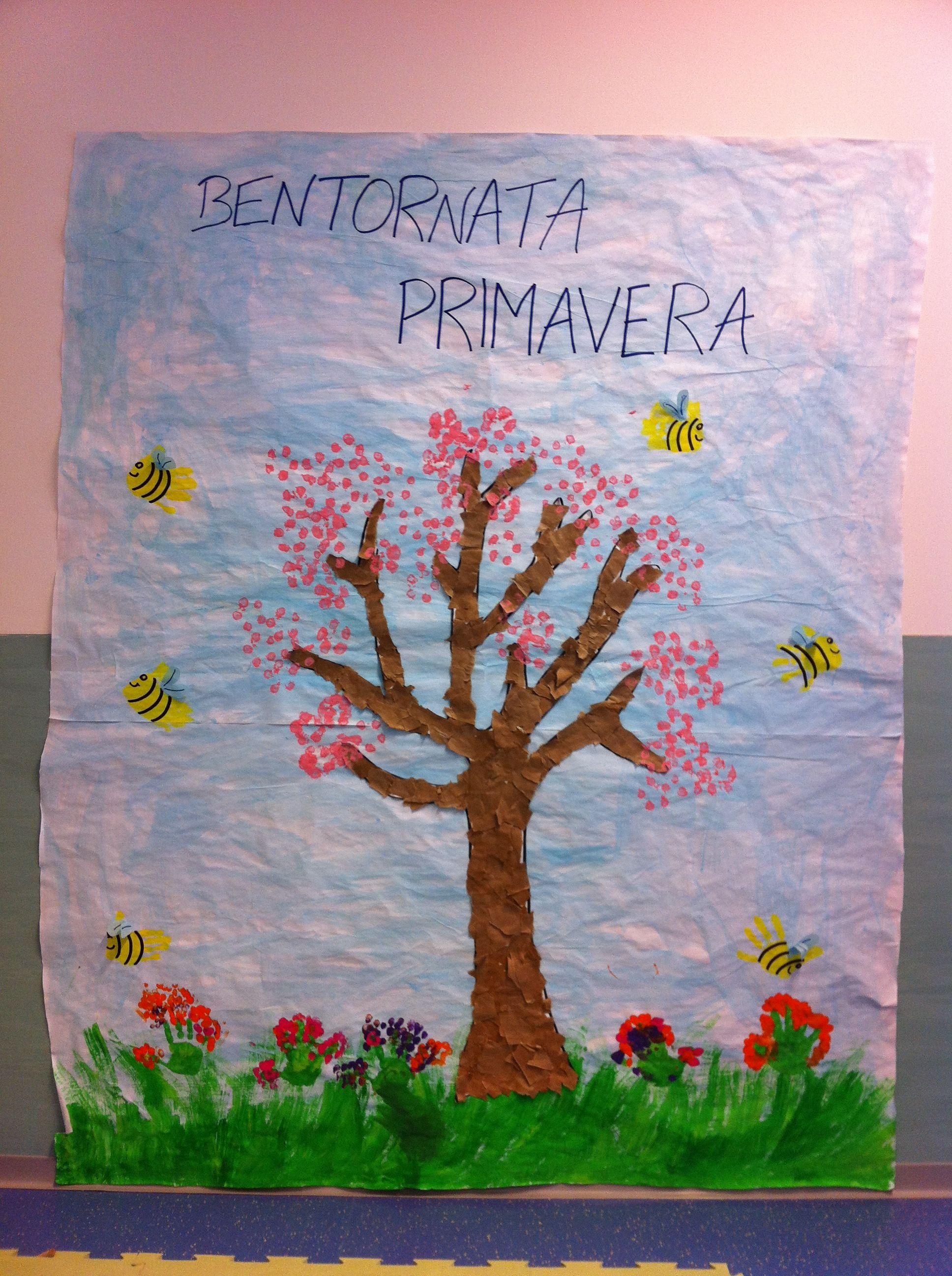 Cartellone di primavera lavoretti scuola infanzia for Lavoretti di primavera