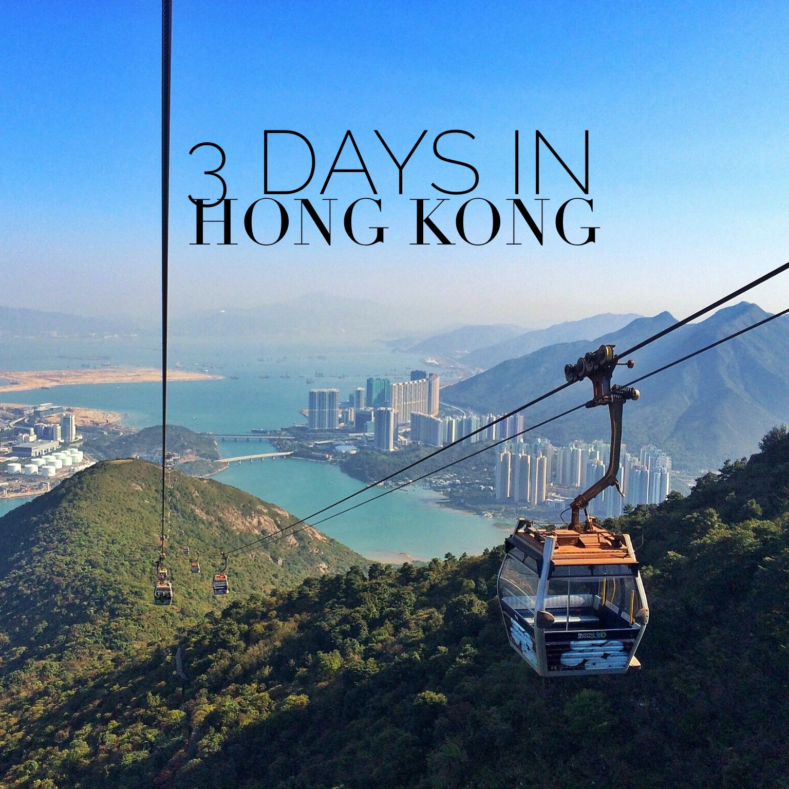 How to spend 3 days in Hong Kong. www.travelmechic.com in