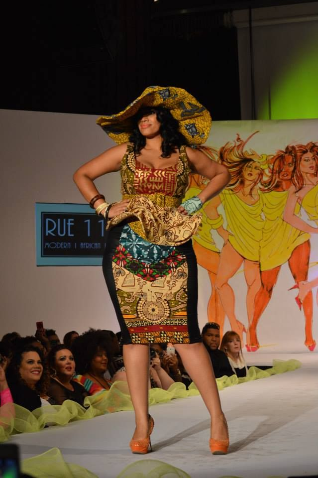 Curvy Closet The Top 10 Looks From Full Figured Fashion Week Full Figured Fashion Week Full Figure Fashion African Fashion