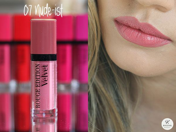 Bourjois Rouge Edition Velvet 07 Nude Ist Products To Look Out For