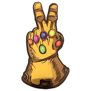 The Infinity Gauntlet The Infinity Gauntlet Cartoon Stickers Stickers