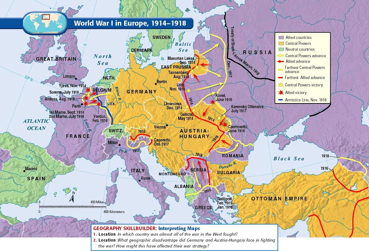 1dnya sava 1914 1918 dnya corafyasi hartalar pinterest europe before world war 1 map 1914 images pictures gumiabroncs Gallery