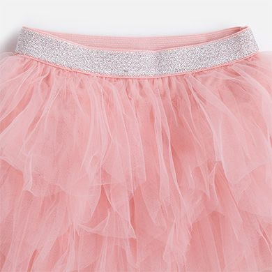 6220da384 Falda corta de niña en tul Chicle - Mayoral   ropa   Fashion, Skirts ...