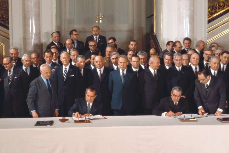 May 27 1972 Salt Agreement Is Signed The Strategic Arms