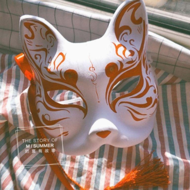Anime face mask boy bnha bokunoheroacademia katsuki