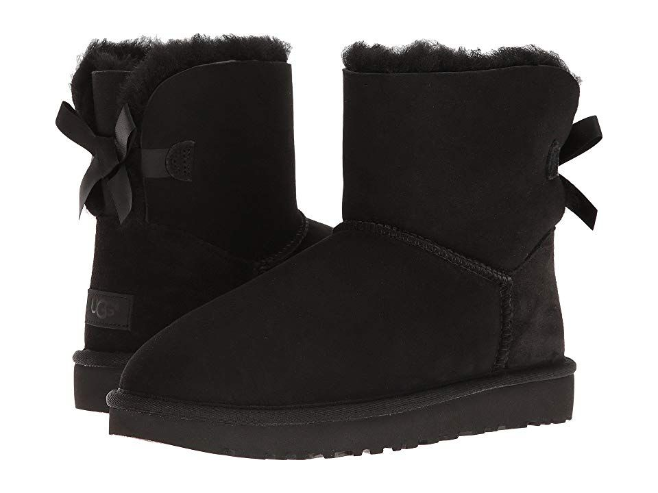 9496f963ebf UGG Mini Bailey Bow II Women's Boots Black in 2019 | Products ...
