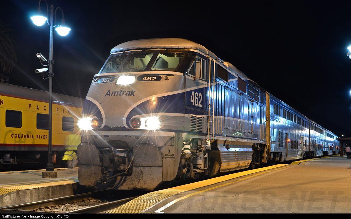 RailPictures.Net Photo: AMTK 462 Amtrak EMD F59PHI at San Luis Obispo, California by J.PO