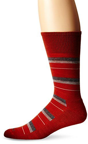 Goodhew Mens Shadow Stripe Socks LargeXLarge Ginger >>> Click image to review more details.