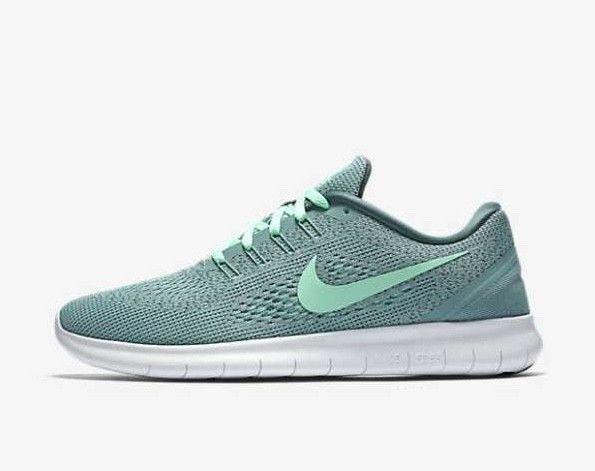Nike Free RN 831509-004 Cannon Green Glow White Women's Running Shoes ...