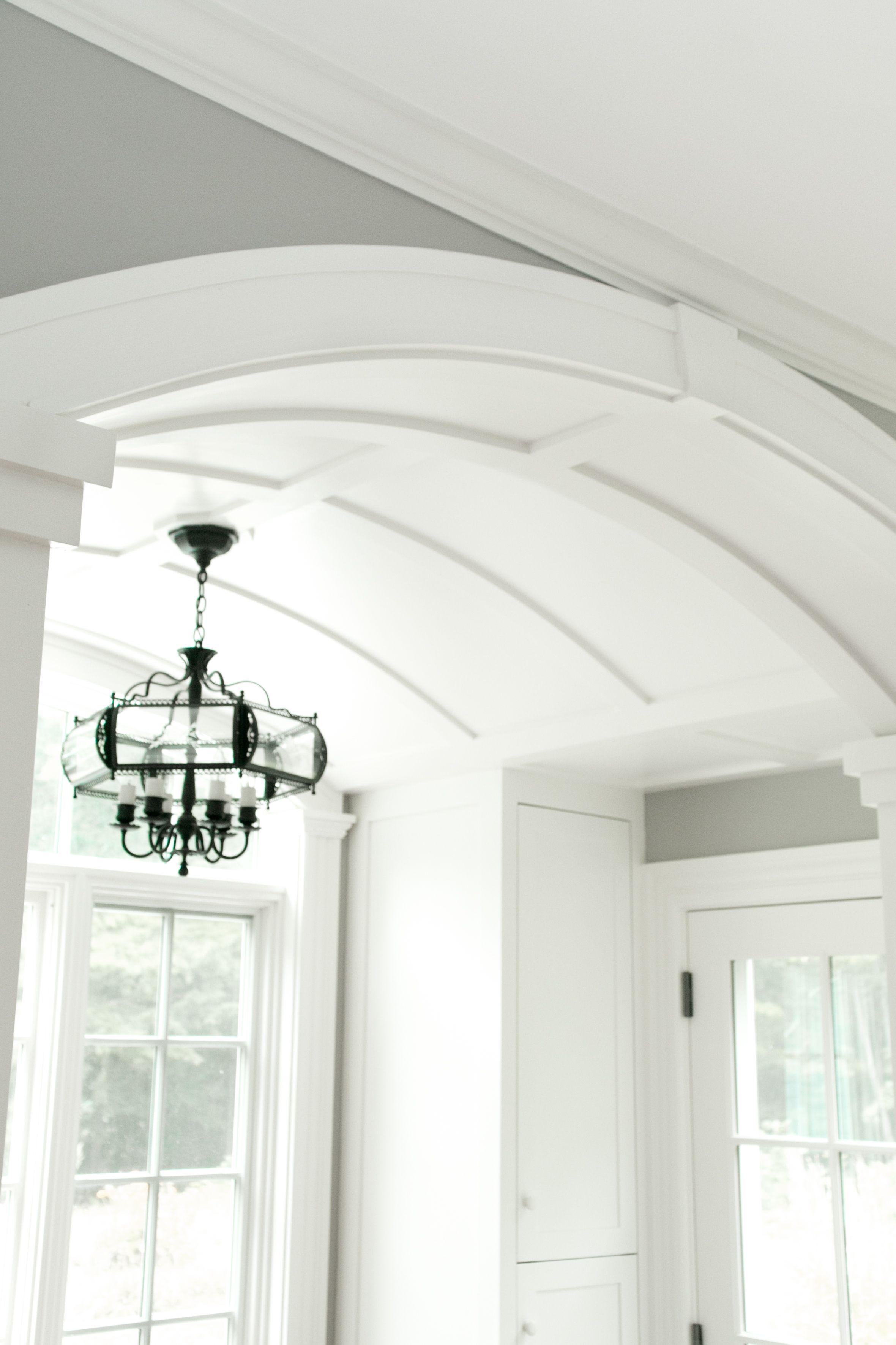 Hall Gypsum Arch Ceiling