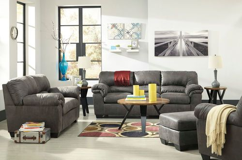Fantastic Ashley Bladen Slate Sofa Loveseat Chair Ottoman Gmtry Best Dining Table And Chair Ideas Images Gmtryco