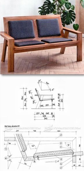 Wooden Couch Plans