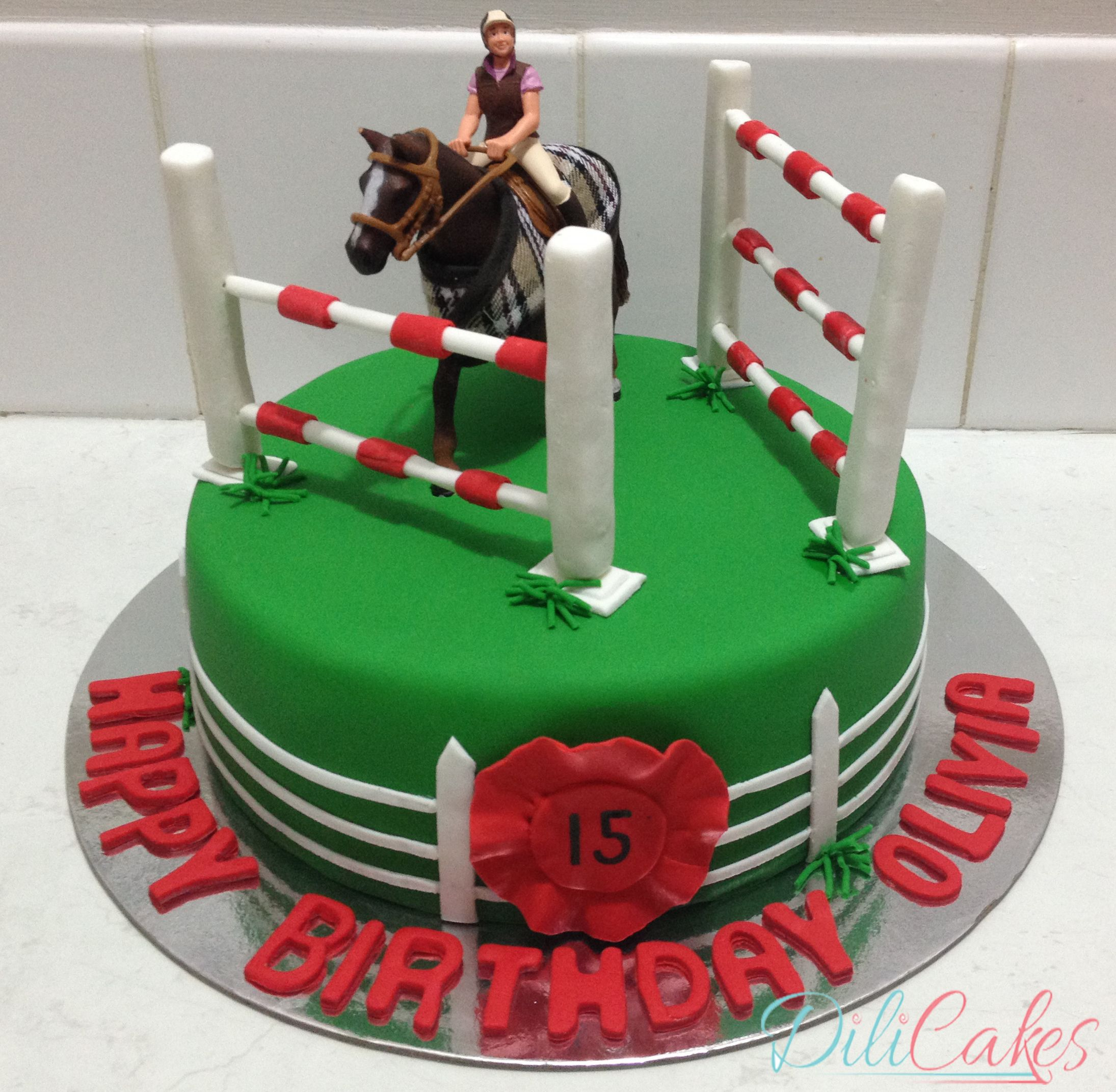 How to make horse cakes