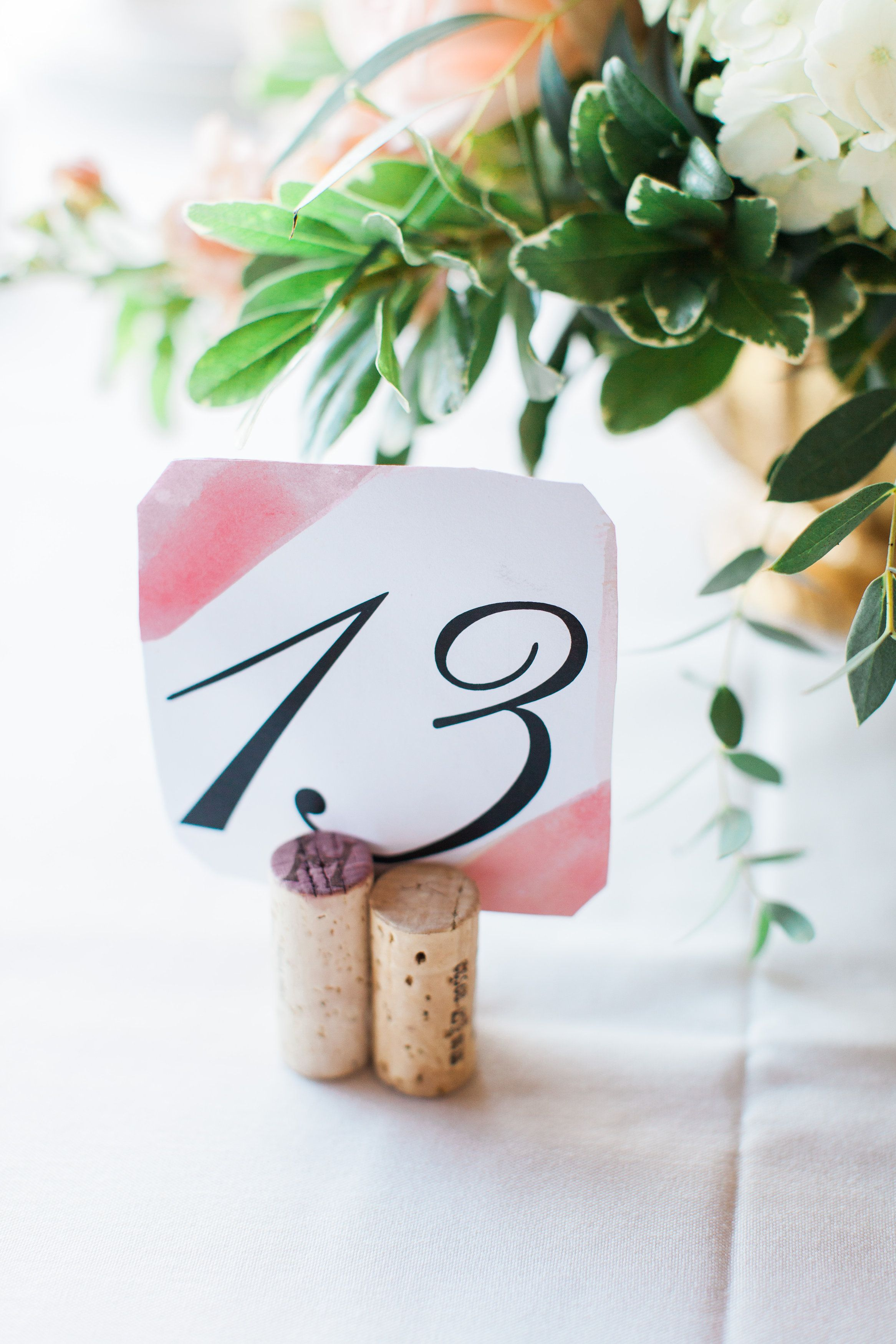 Table number idea for a winery wedding | Wedding Details | Pinterest ...
