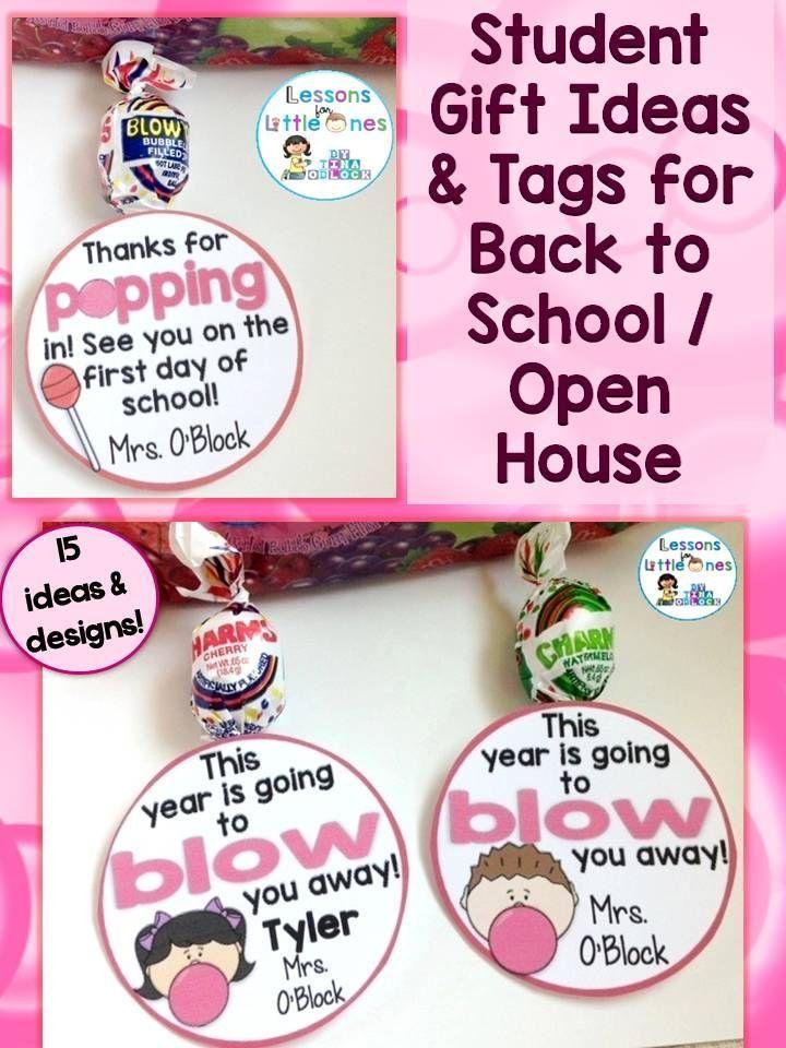 Back To School Open House Meet The Teacher Student Gift