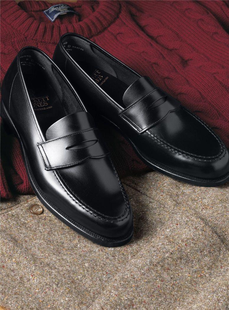 The Harvard Loafer In Black Loafers Men Dress Shoes Men Gentleman Shoes [ 1048 x 776 Pixel ]