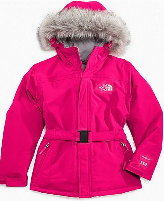 a14d24db66 The North Face Kids Coat, Little Girls Greenland Jacket - Kids The North  Face - Macy's